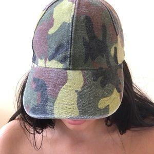 Zara Camo Green Cap